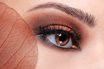 Makijaż dla brązowych oczu