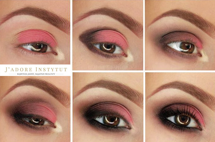 Lekcja makijażu z J'adore Instytut