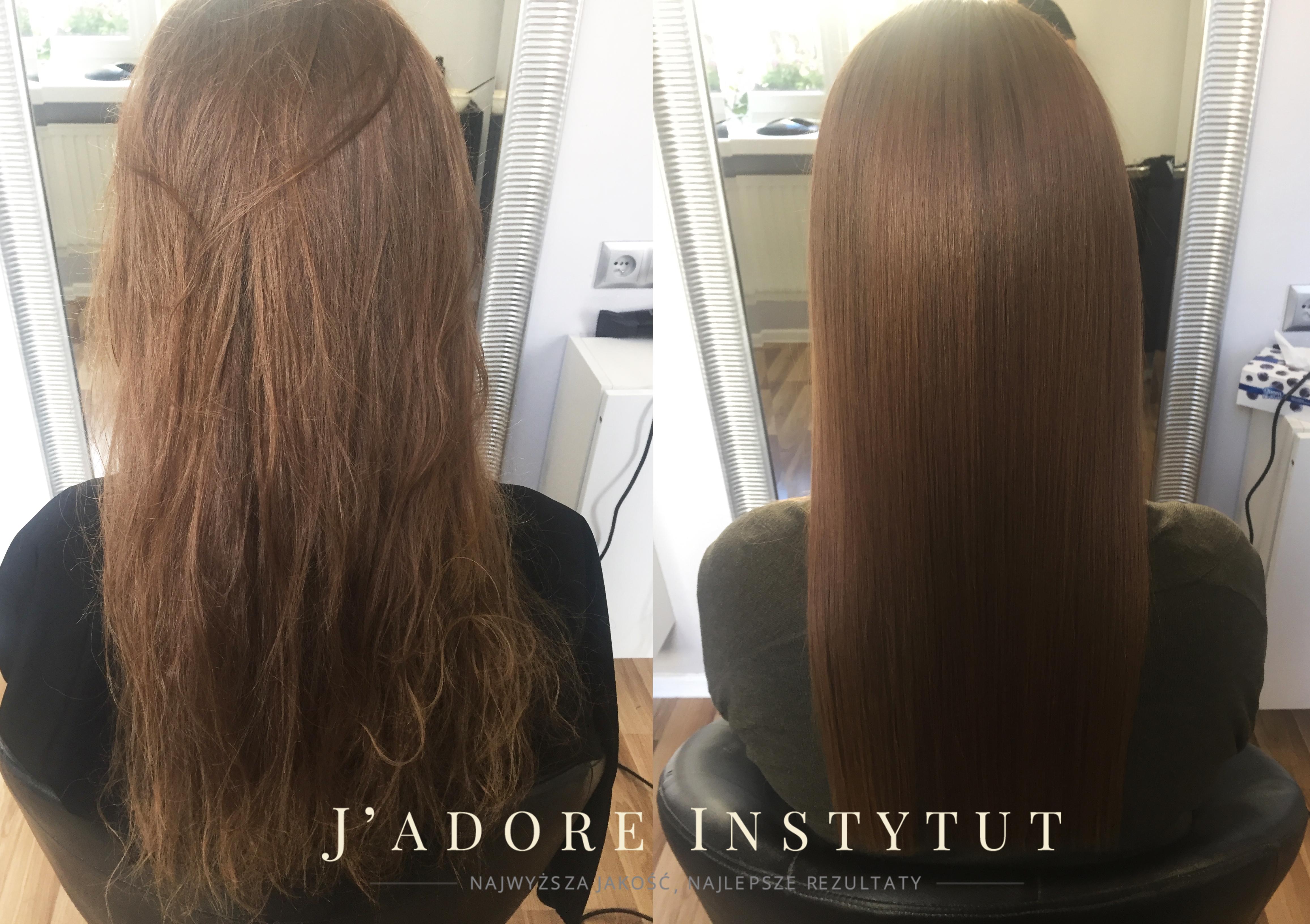 Chwalebne 🔴 Keratynowe prostowanie włosów KRAKÓW - J'adore Instytut CF69
