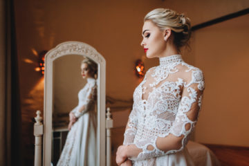 Wedding makeup and wedding hairstyle – the best ideas and trends
