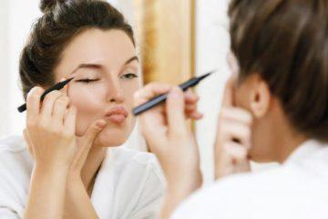Makeup trends and eyebrow and eyelash care