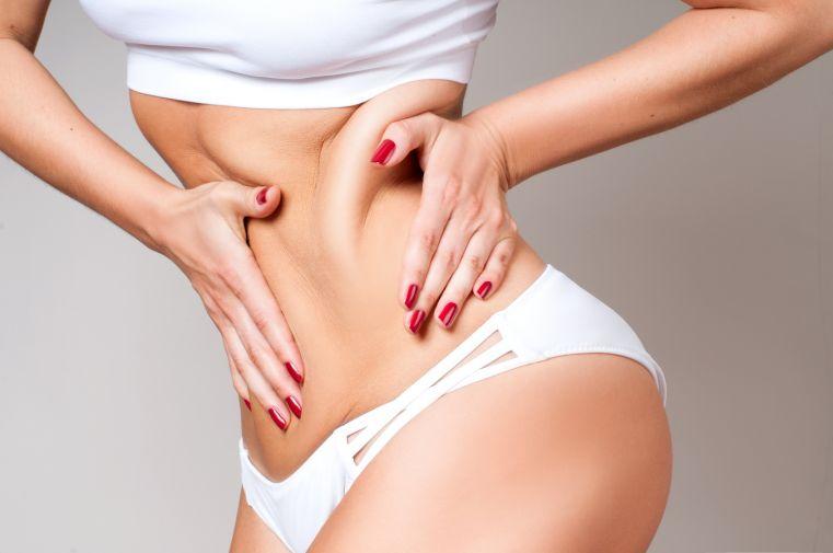 brzuch Skóra po ciąży   zabiegi działające cuda