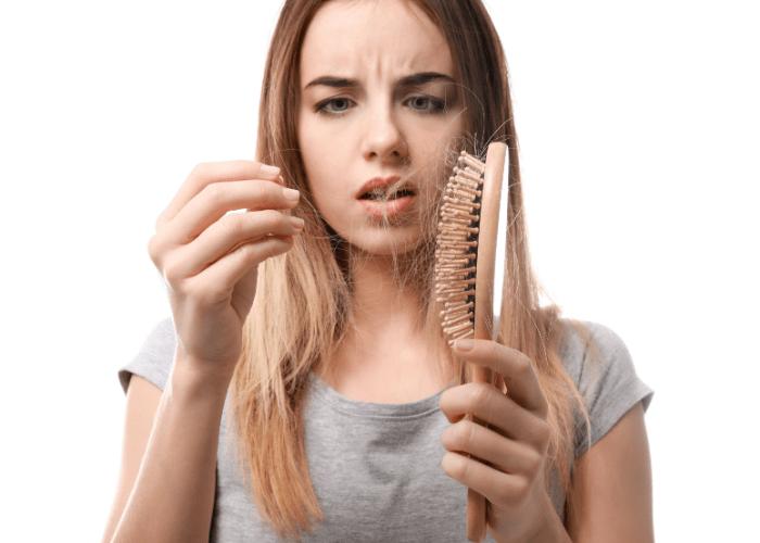 wypadanie wlosow 1 Choroby ustrojowe a wpływ na wypadanie włosów.